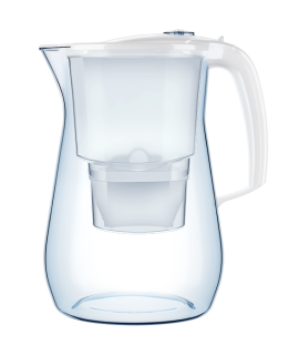 Filterkann Aquaphor Onyx valge 4.2 l MAXFOR+